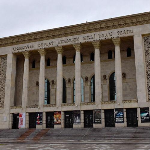 Akademik Milli Dram Teatrının aprel  ayı repertuarı/MANERA.AZ