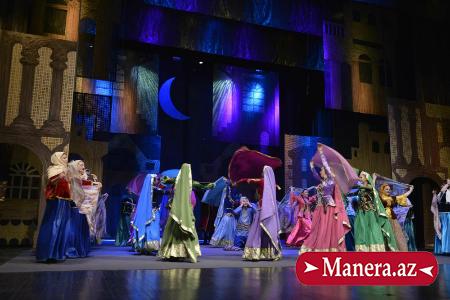 Musiqili Teatrın balet truppası Dədə Qorqud festivalında / MANERA.AZ