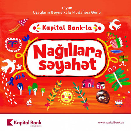 """""""Kapital Bank"""" uşaqları sevindirir -Layihə"""