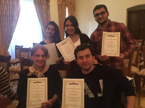 Azərbaycan Dövlət Gənc Tamaşaçılar Teatrının əməkdaşları mükafatlandırılıblar