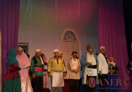 Musiqili Teatr Tehrandan qayıdıb
