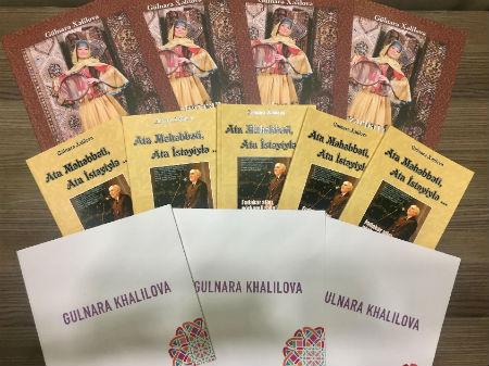 Gülnarə Xəlilovanın yeni kitabı çap olunub