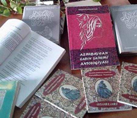 Xurşidbanu Natəvana həsr edilmiş kitab sərgisi