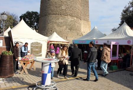 İçərişəhərdə kulinariya festivalı