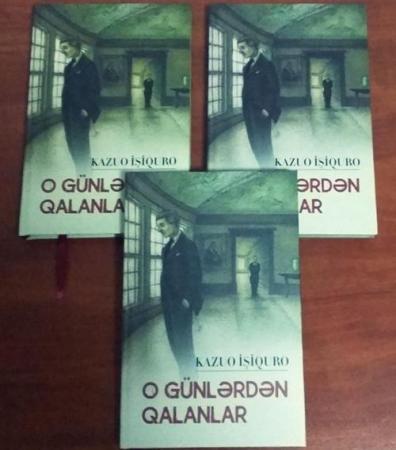Sonuncu Nobelçinin romanı Azərbaycan dilində