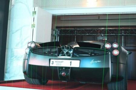 Üç milyon dollara avtomobil nömrəsi