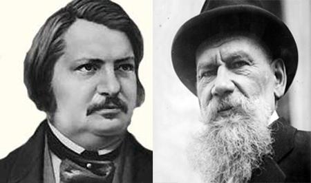 Balzak və Tolstoyun uşaqlığı