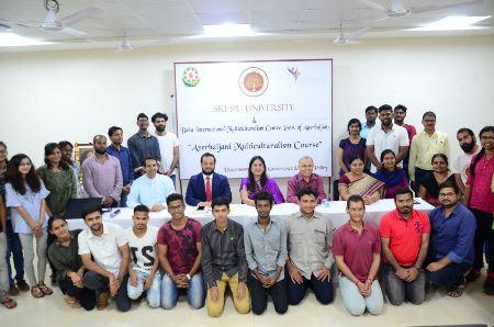 Hindistanda Azərbaycan multikulturalizmi dərslərinə başlanılıb