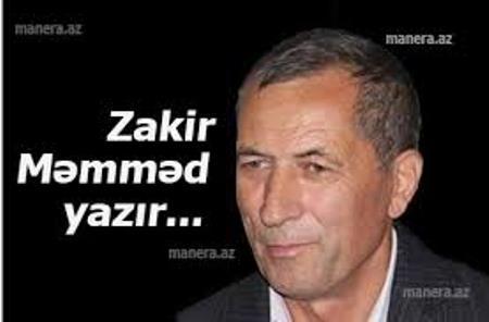 Qələmin vəzifəsi - Zakir Məmməd yazır