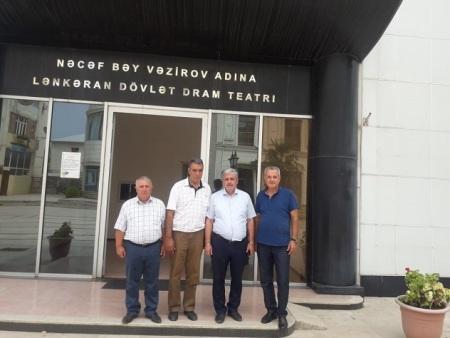 Naxçıvan sənətçiləri Lənkəran teatrında