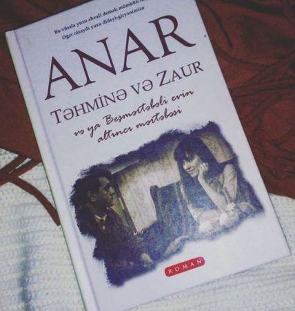 """""""Təhminə və Zaur """" romanı əsasında serial çəkilir"""