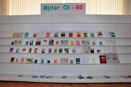 """""""Əjdər Ol – 60"""" kitab sərgisi"""