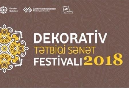 Dekorativ-Tətbiqi Sənət Festivalı keçiriləcək