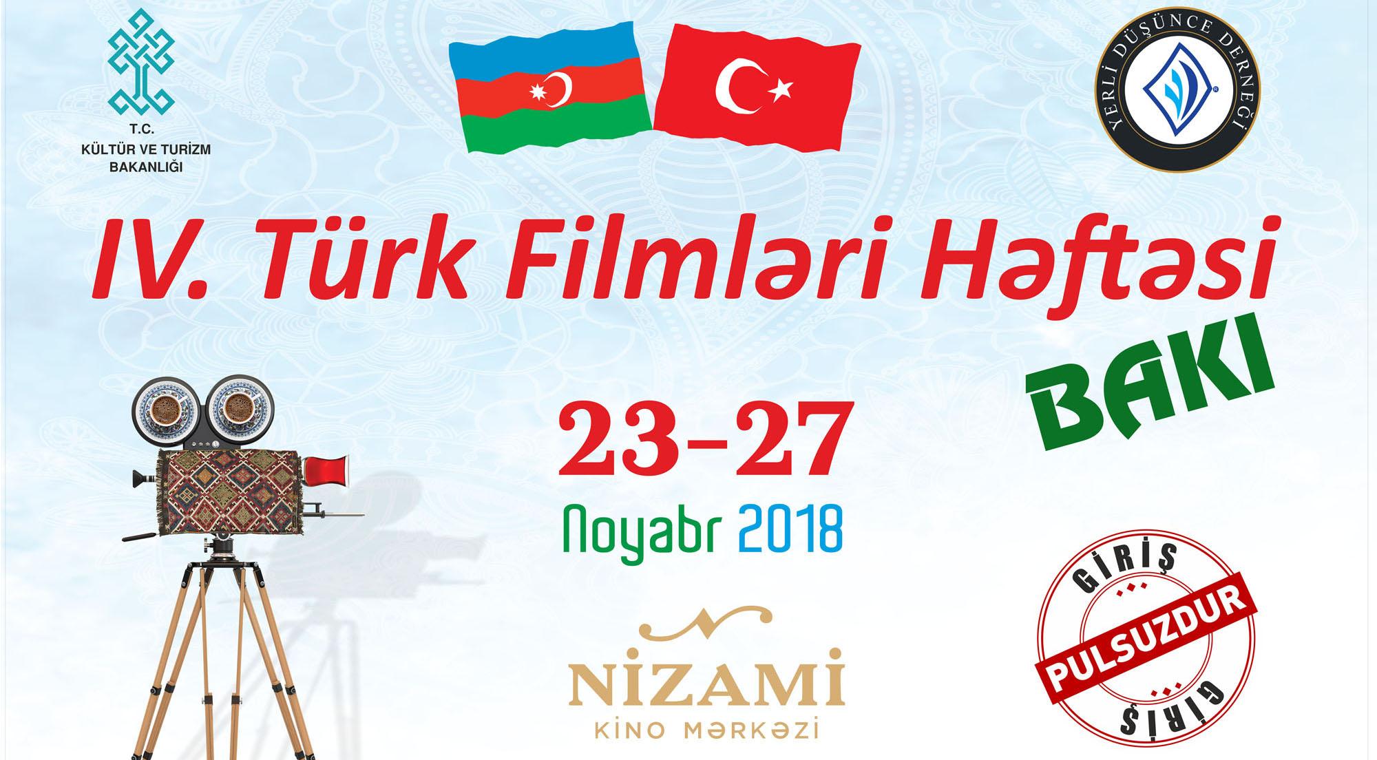 Bakıda IV Türk film həftəsi başlayır...