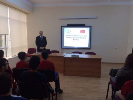 Dil və Tərcümə Xidmətləri Mərkəzi təqdimat keçirib