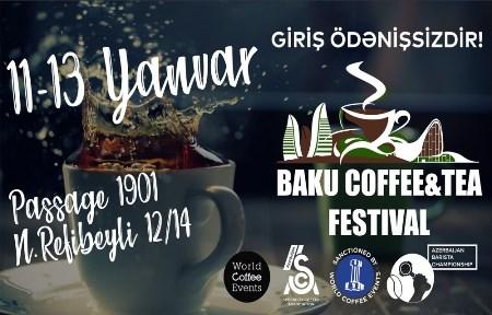 Bakıda Qəhvə və Çay festivalı keçiriləcək