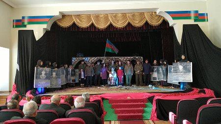 """Qusar Teatrında  """"Əsir qadın"""" tamaşası nümayiş olunub"""