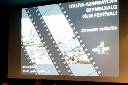 Bakıda İtaliya-Azərbaycan Beynəlxalq Film Festivalı keçiriləcək