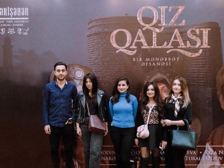 """""""Qız qalası"""" filminin təqdimatı olub"""
