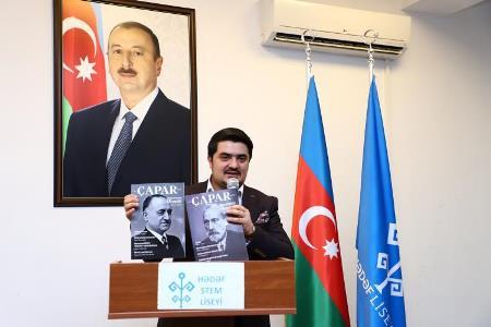 """""""Çapar"""" jurnalı təqdim olundu"""