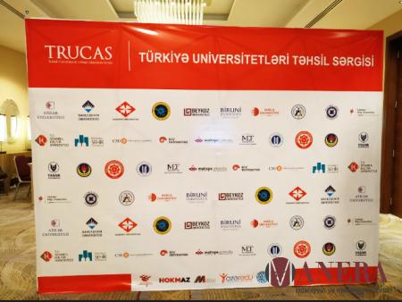 Türkiyə universitetləri Bakıda sərgi keçirir - FOTO