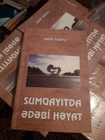 Vaqif Yusiflinin yeni kitabı çap olunub