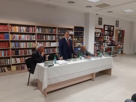 Professor Qəzənfər Kazımovun kitablarının təqdimatı olub