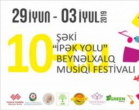 Şəkidə beynəlxalq musiqi festivalı başlayıb