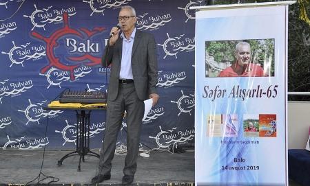 Yazıçılıq taledi - Səfər Alışarlının yubiley çıxışı