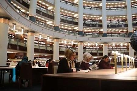 Ankarada İslam dünyasının ən böyük kitabxanası açıldı