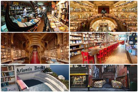 Dünyanın 10 ən məşhur kitab mağazası