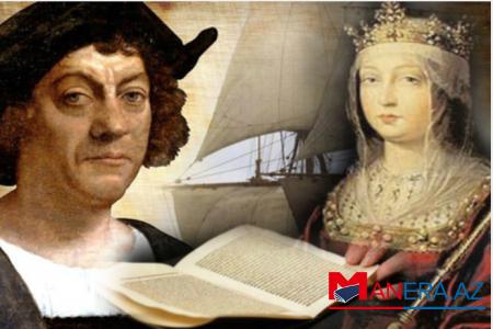 Kolumbun kraliçaya yazdığı məktub tapıldı