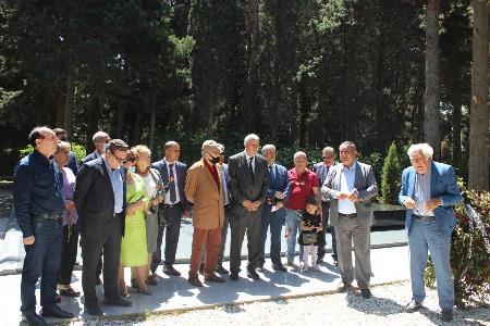 Beynəlxalq Rəsul Rza Mükafatının təqdimatı keçirildi - Fotolar