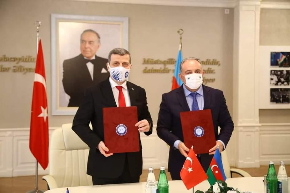 Qazi Universiteti ilə AzTU arasında ikili diplom müqaviləsi imzalanıb