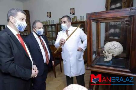 Qazi Universiteti Tibb Universiteti ilə əməkdaşlığa başlayır