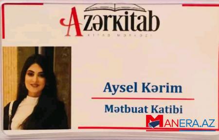 """Aysel Kərim """"Azərkitab""""ın mətbuat katibi təyin edildi"""