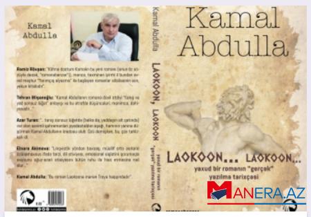 Kamal Abdullanın yeni romanı çap olundu