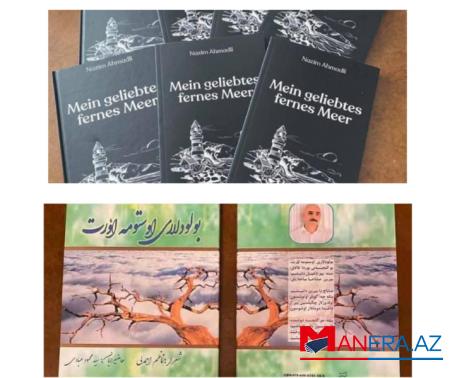 Azərbaycanlı şairin kitabları Almaniyada və Təbrizdə çap olunub