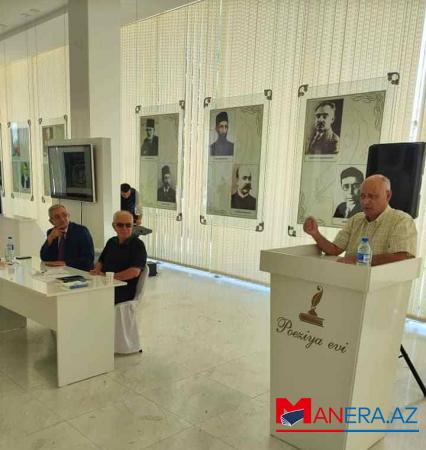 """Arif Ərşadın """"Hekayələr"""" kitabının  təqdimatı keçirildi - Fotolar"""