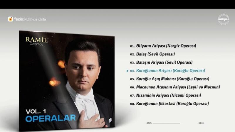"""""""Koroğlu"""" operası 62 il sonra yenidən lentə alınıb"""