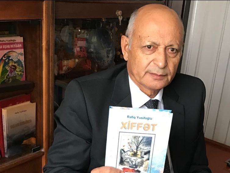 Rafiq Yusifoğlunun ilk romanı işıq üzü gördü