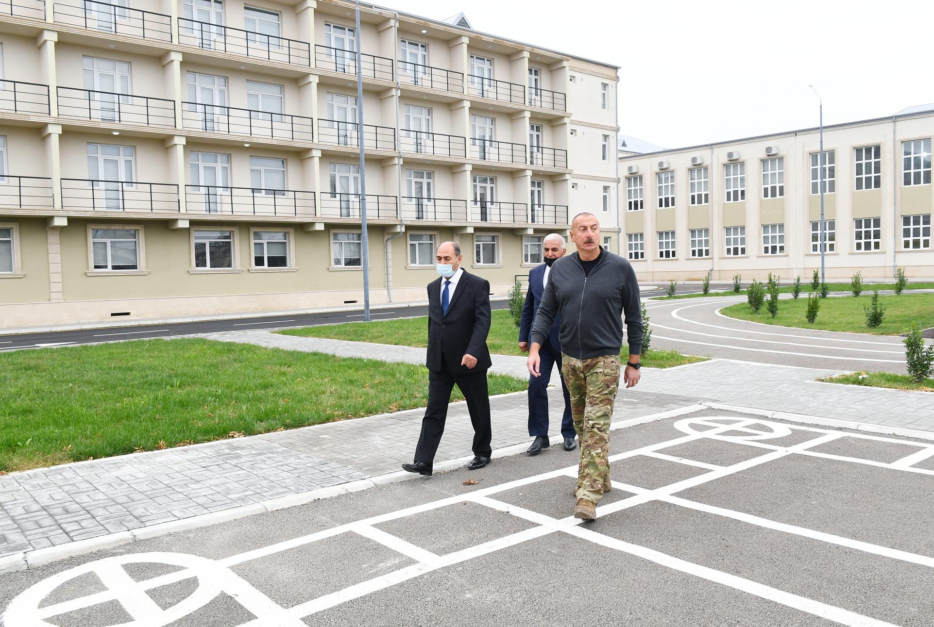 Bərdə Peşə Liseyinin açılışı olub - Fotolar