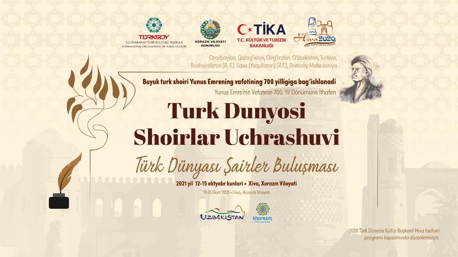 Türk dünyası şairləri Xivəyə toplaşır